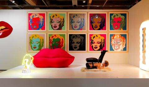 Be the Andy Warhol for your home!