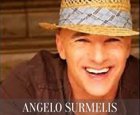 Angelo Surmelis is a German-born Greek-American professional designer who resides in Los Angeles. Surmelis was a designer on the TLC program Clean Sweep, the Lifetime program Merge, and the Style Network program My Celebrity Home.