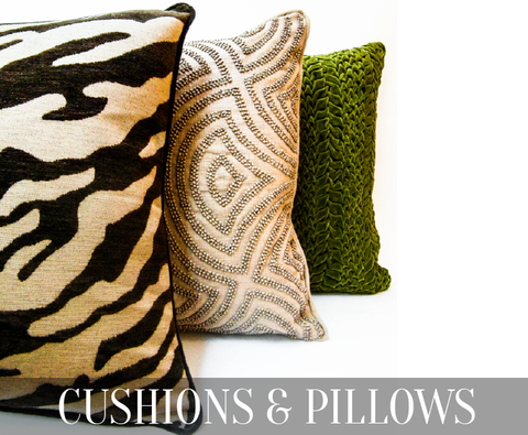 Buy designer cushions and pillows from Singapore online furniture store, www.FinnAvenue.com. Highly recommended by interior designer and home stylists, this is the go-to-place for home decor funishing items.