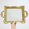Duchess Baroque Gold Mirror Tray