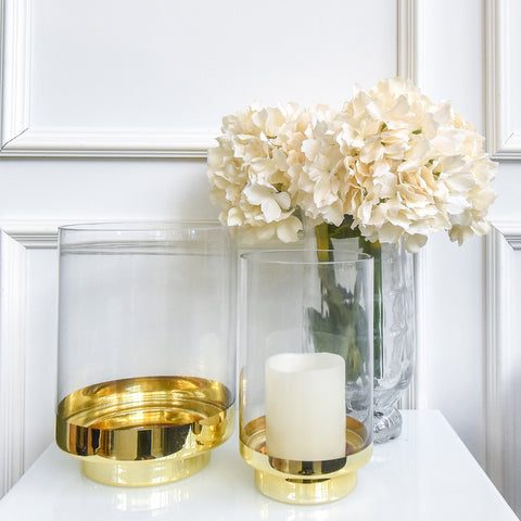 Dior Gold Candle Holder