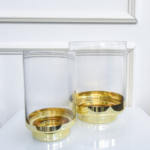 Dior Gold Candle Holder, 2 sizes