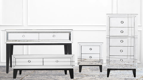 A Furniture Necessity: The Etienne Mirrored Collection
