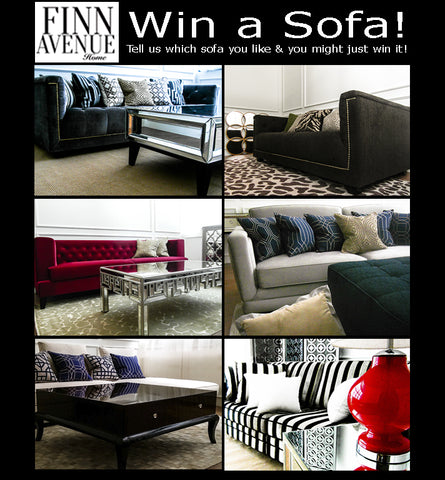 Win a Sofa - Finn Avenue: Luxury for a Steal