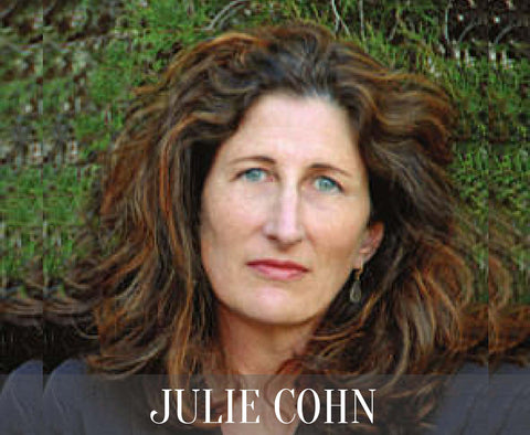 Julie Cohn is an artist, designer, and developer of home and corporate interiors.  Elegantly mixing wool with silk, her rugs are an extrodinary addition to any home.