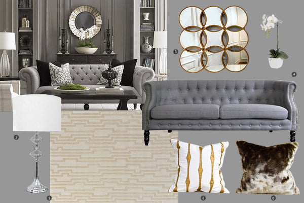3 STYLISH LOOKS WITH FAYETTE CHESTERFIELD SOFA