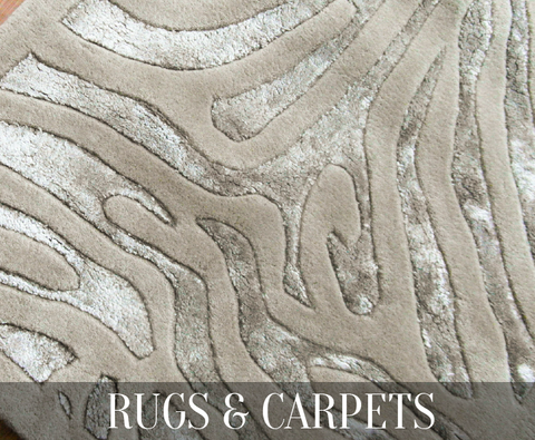 Carpet & rugs designed and created by famous home interior designer and decorators from all over the world are available for online shopping and international shipping worldwide.