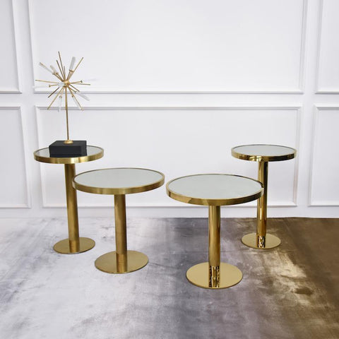 Brushed or Polished Gold? Which coffee table says you?