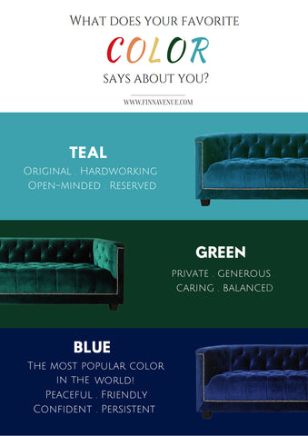 What does your favorite color says about you?