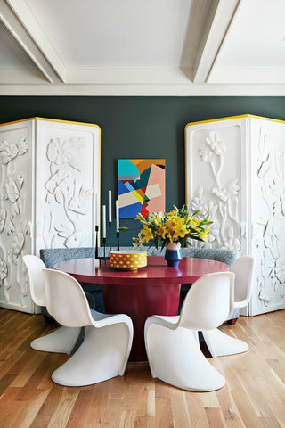 HOME INSPIRATION: AN ARTIST'S SPARK OF COLOR