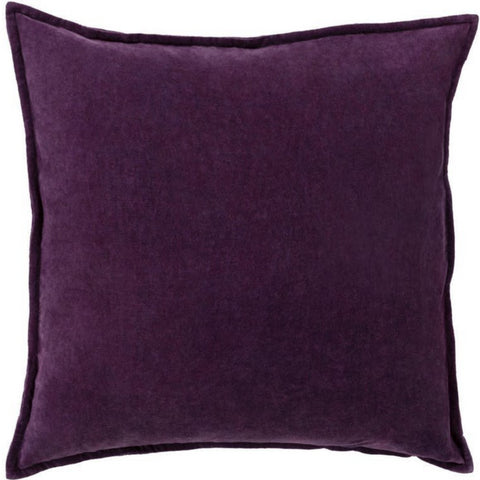 Avery Velvet Cushion, Purple