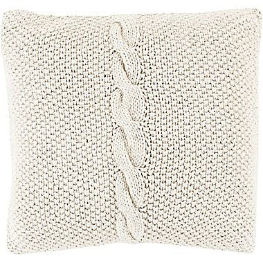 Braided Cotton Down Feather Cushion