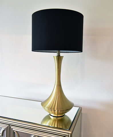 Antoine Gold Metal Table Lamp