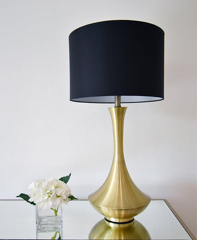 Antoine Gold Metal Table Lamp on Sale at Finn Avenue Singapore