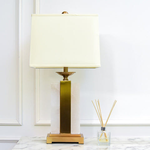 Admore Alabaster Table Lamp