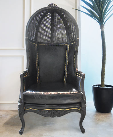 Art Deco Accent Balloon Chair