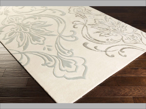 Candice Olson Designer Collection: Modern Classics ~ Floret Silver Rug