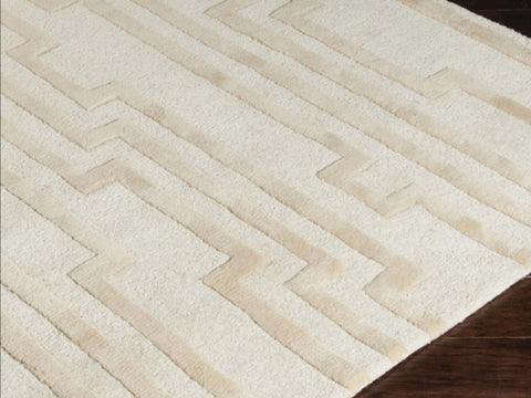 Candice Olson Designer Collection: Modern Classics ~ Morphology Ivory Rug