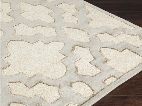 Candice Olson Designer Collection: Modern Classics ~ Lattice Gray Rug