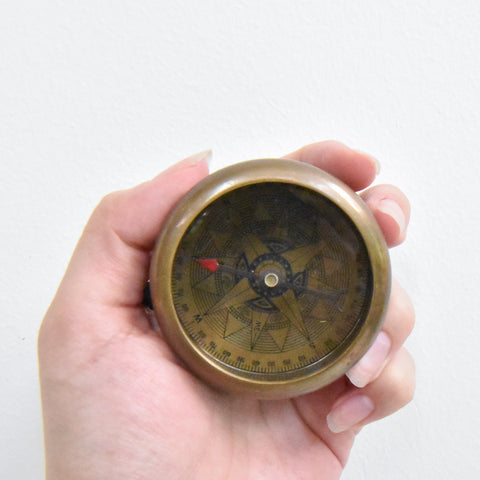 Cook Vintage Compass Decor
