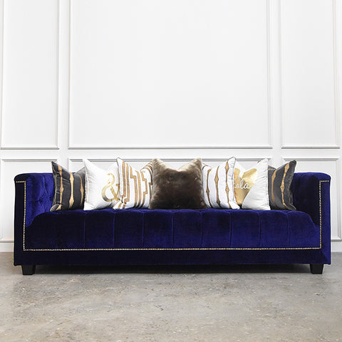 Duke of Chesterfield Sofa, 3-seater-plus