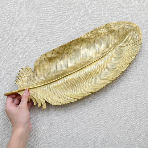 Feuille Gold Leaf Tray
