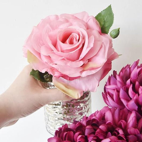 Decorative Rose Flower, Pink Perpetue