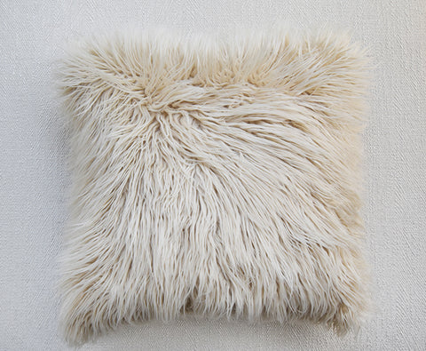 Fur Fur Oat Down Feather Cushion