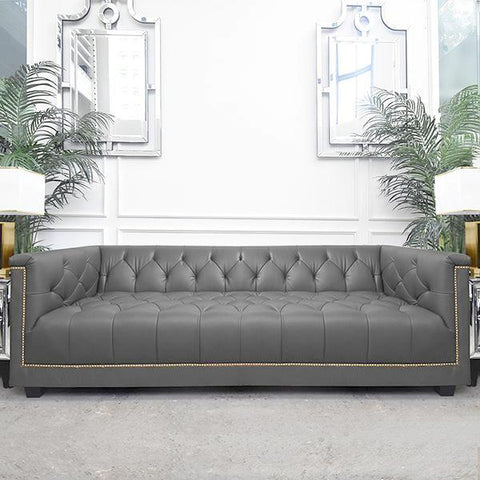 Leather Chesterfield Sofa Singapore