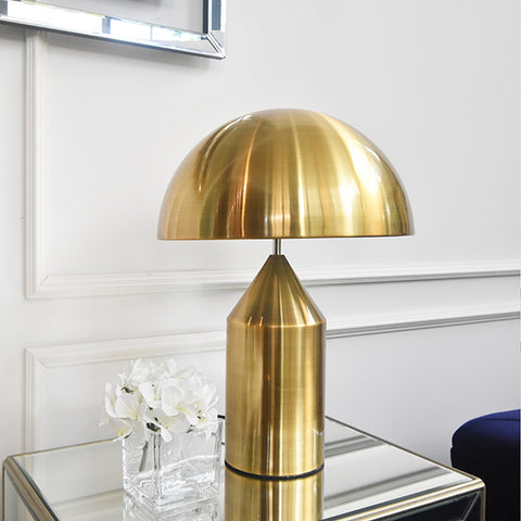 Gold Dome Lamp in Singapore