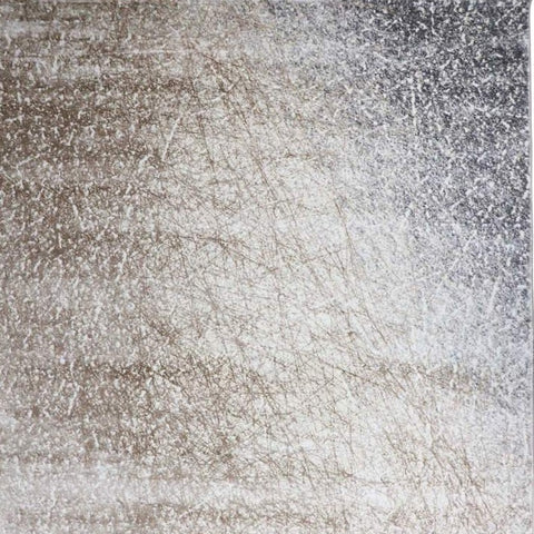 Luxury rug in neutral color cream taupe and grey