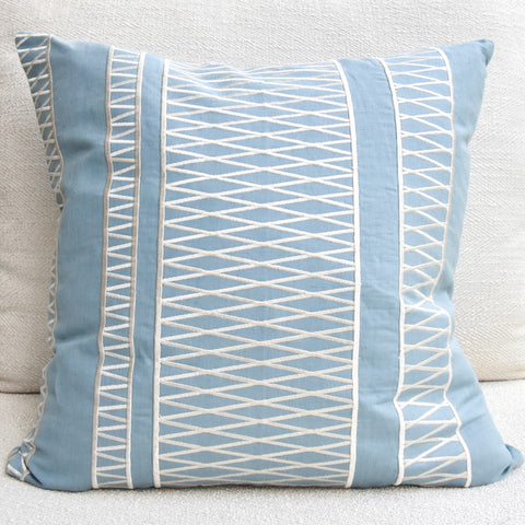 GluckersteinHome Cora Blue cushion