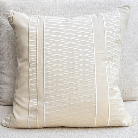 GluckersteinHome Cora Cream Cushion