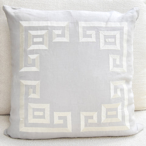 GluckersteinHome Grey Cushion