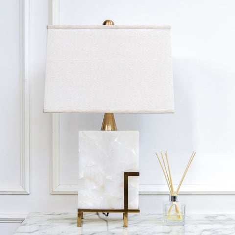 Herst II Alabaster Table Lamp