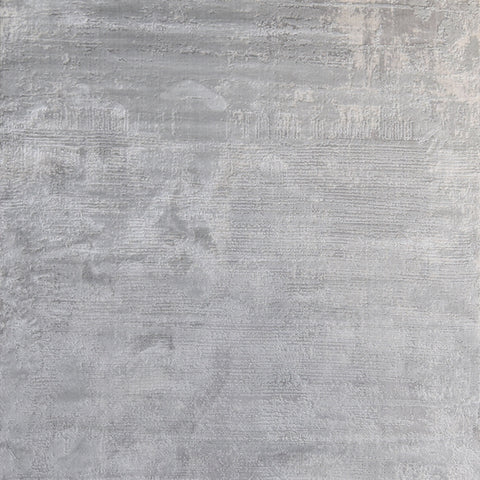 Jules Luxury Silky Rug, Light Grey