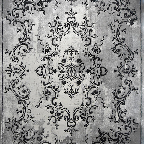 Kuzey Grey Signature Rug, 240cm by 330cm