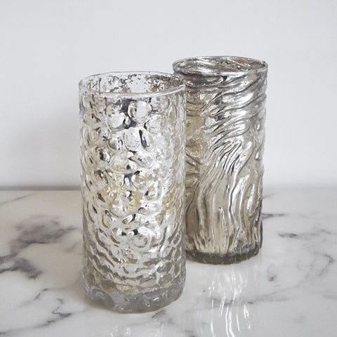Mercury Glass Votive Holders for Home Decor