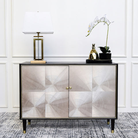 Lauren Art Deco Cabinet in Living Room