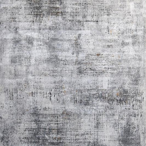 Levine Modern Art Rug, Light Grey Hues, 3 sizes
