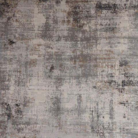 Macek Abstract Art Luxury Rug in Taupe grey cream and grey for Dining Rooms and Living Room Designs