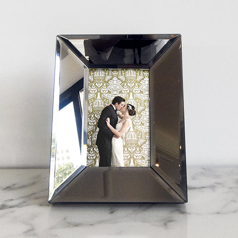 Mirrored Photo Frame, Rectangular