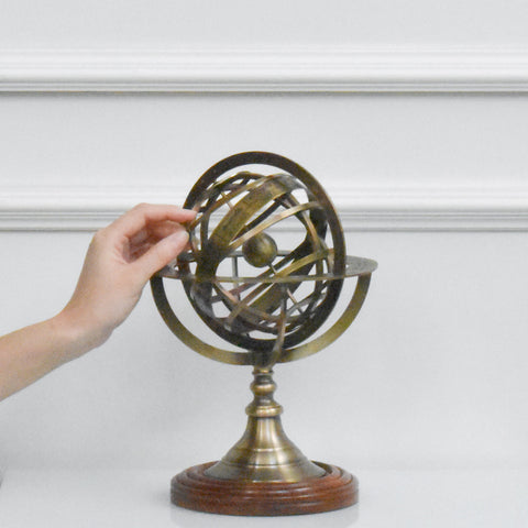Ophiuchus Astrology Globe Decor