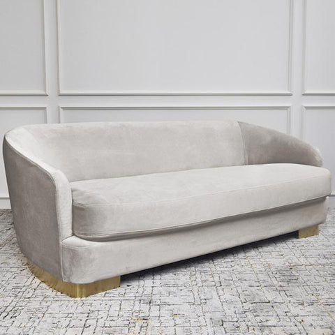 Rever-de-Rever Curved Sofa, 3-seater
