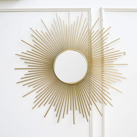Soleil Sunburst Wall Sculpture Wall Art, Large