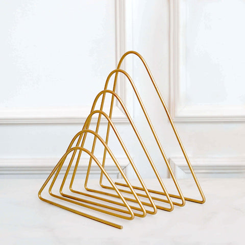 Stories Gold Letters Rack Magazine rack