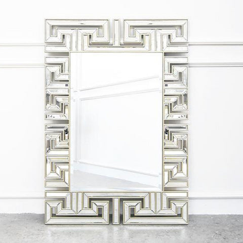 Tradition Reinterpreted Handcarved Wall Mirror