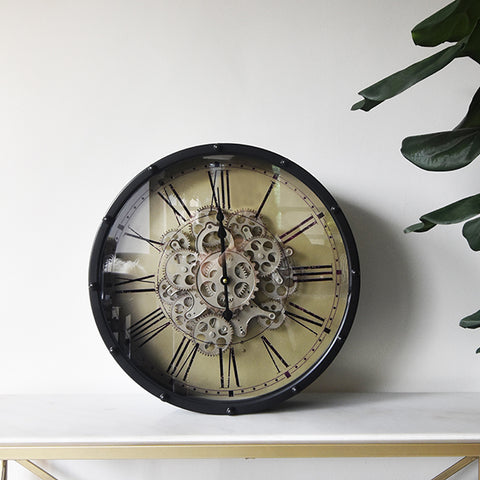 The Exchange Gear Wall Clock