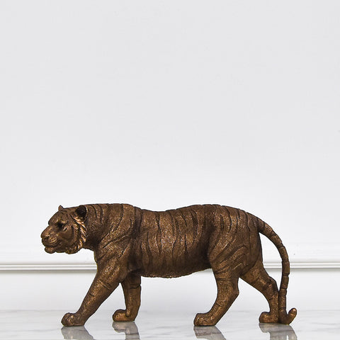 Tiger Sculpture Decor