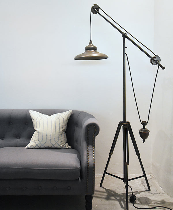 Floor lamps online home decor finnavenue finn avenue thor tripod counterbalance floor standing lamp aloadofball Image collections